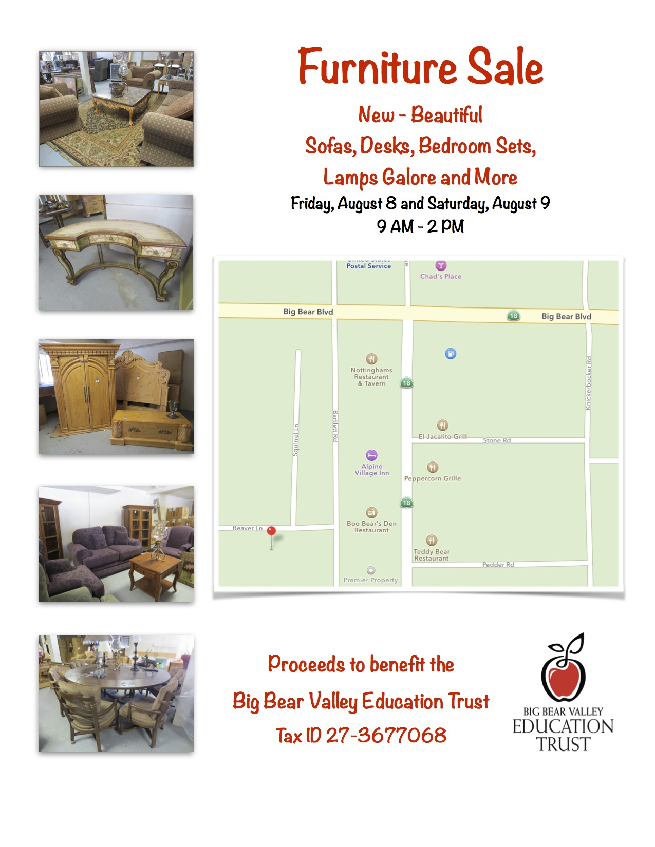 Furniture Sale | 8/8/2014